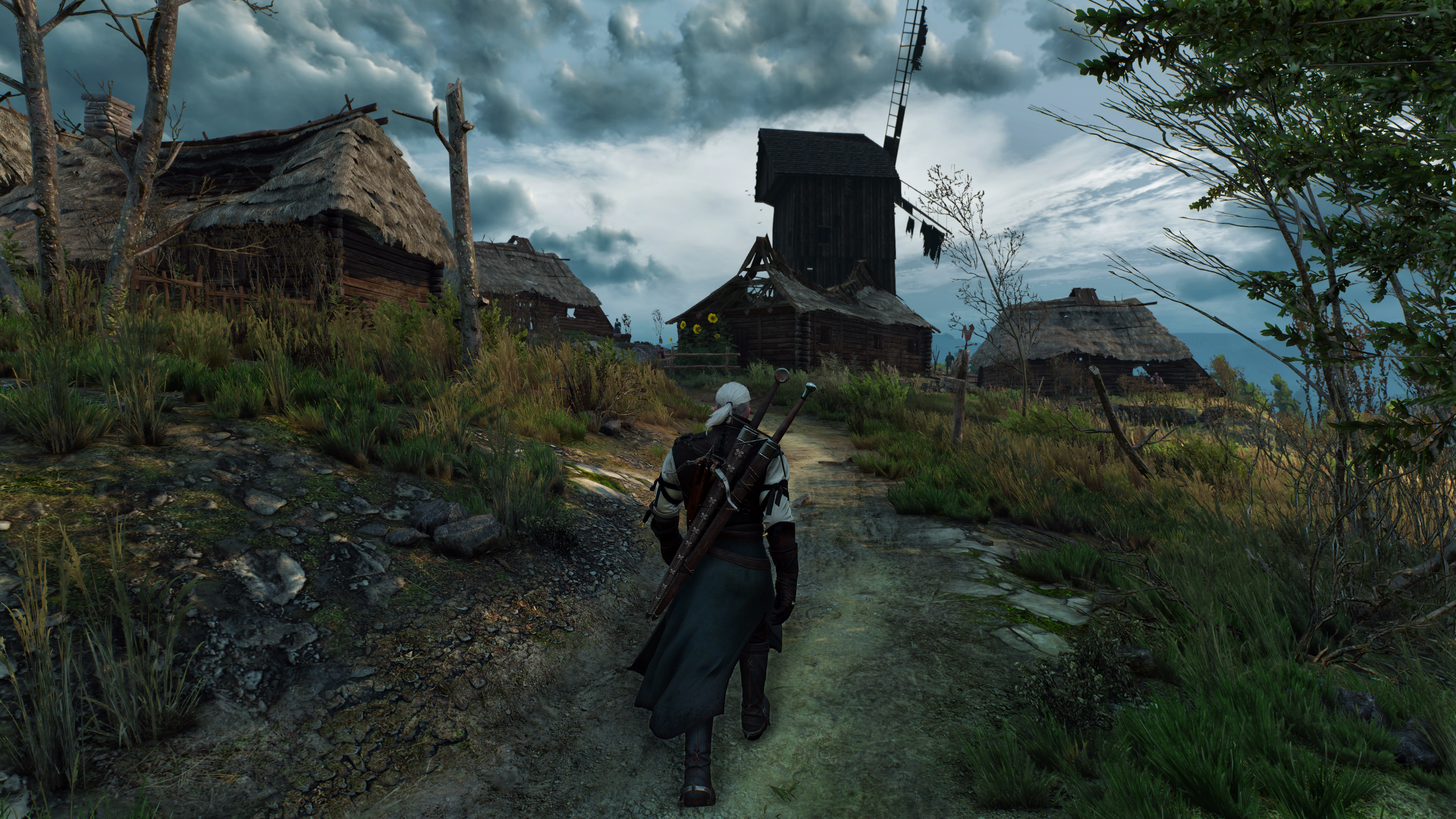 The Witcher 3: Wild Hunt screenshot released in 4K is stunning